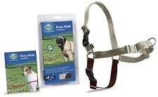 PetSafe Dog Nylon EASY WALK HARNESS Reduce Pulling XL Fawn and Brown