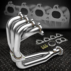 FOR 88-00 HONDA CIVIC CRX DEL SOL D-SERIES l4 STAINLESS HEADER EXHAUST MANIFOLD
