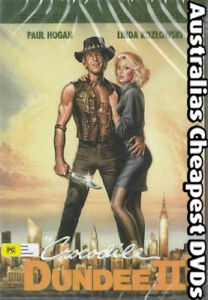 Crocodile Dundee 2 DVD NEW, FREE POSTAGE WITHIN AUSTRALIA REGION ALL