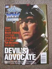'Doctor Who Magazine' - #259 - Dec 1997 - Marvel Comics