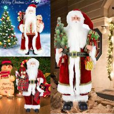 Standing Santa Claus Christmas Room Decoration Figure Traditional Xmas Ornament