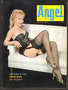 ANGEL v1n2 - 1963 Delilah ~ ANITA VENTURA / JUNE PALMER Nylons & Garters