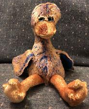 Ty Original Beanie Baby Dinky The Duck Rainbow 2000 Ostrich Bird