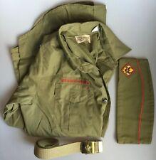 Boy Scouts of America Shirt Hat Belt Pleasure Ridge Park Louisville Ky #138