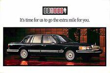 Advertising Postcard 1994 Lincoln Town Car