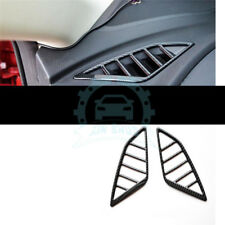 2x For Mazda 3 Axela 2017 18 Carbon fiber Car interior Side Top A/C Vent Trim re