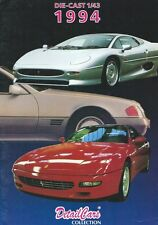 Detail Cars Model Catalogue • 1994 • 1/43 Diecast • Very Good