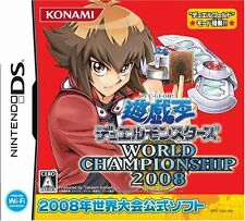 Used Nintendo DS Yu-Gi-Oh! World Championship 2008 Japan Import (Free Shipping)、