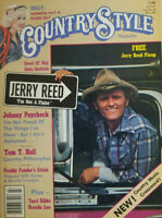 Country Style Magazine July 1981 - Jerry Reed Pinup - Dolly Parton - No Label NM