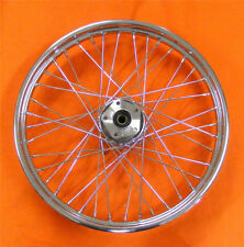 "40 SPOKE 21"" FRONT WHEEL 21 X 2.15 DUAL DISC HARLEY SHOVELHEAD FXWG WIDE GLIDE"