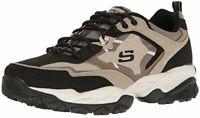 Skechers Sport Men's Sparta 2.0 Training Sneaker, Taupe/Black, Size 10.5 7hvh