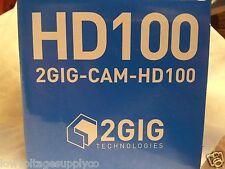 2GIG-HD100 Go control Panel Alarm  Video Camera High Definition Cam NEW $10 cert