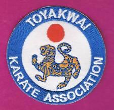 Sport Martial Arts Toyakwai Karate Association Patch