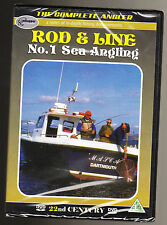 ROD & LINE - NO. 1 SEA ANGLING - THE COMPLETE ANGLER - NEW & SEALED R2 DVD -RARE