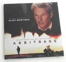 Cliff Martinez Música From The Motion Película Arbitrage Richard Gere Promo CD