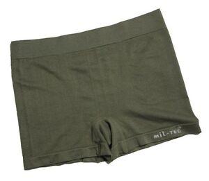 Vert Olive Boxer Shorts - Caleçons Sous-Vêtements Armée Militaire Nouveau
