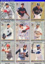 MARK MCGWIRE 2000 Pacific Prism DROPS of SILVER 1 OF 799 MADE