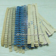 1000pcs 1/4W 5% Carbon Film Resistor Combination 50 Values szsp05
