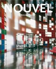 Libro especializado jean nouvel, forma donantes, contemporáneo aparejadores, muchas imágenes, nuevo