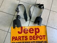 2007 - 2010 JEEP WRANGLER JK 2 OR 4 DOOR REAR SEAT BELTS OEM P5KP121DVAB