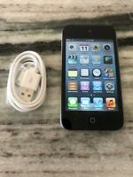 Apple iPod touch 4th Generation Black (64 GB) PERFECT SCREEN. FULLY FUNCTIONAL