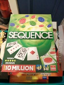 SEQUENCE GAME : RARE EDITION BY GOLIATH GAMES - IN VGC (FREE UK P&P)