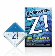 Rohto Z! Eye Drops Ultra-refreshing Feeling Medicated 12ml from Japan