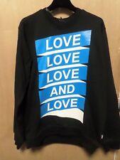 Mens LOVE MOSCHINO Print Sweatshirt Black Large CS081 EE 06