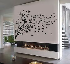 Vinyl Wall Decal Tree Leaves Beautiful Room Home Decor Stickers (486ig)