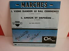EMILE DECOTTY Viens danser le bal commence ORLY PROMO DN620 ACCORDEON MUSETTE