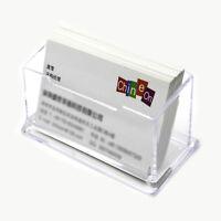 2a606ff209a77 Desktop Visitenkartenhalter Fall Display Box Karteninhaber Transparente