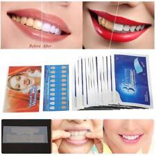 14PCS Tiras blanqueadoras 3D Tiras blancas Tratamiento profesional Cuidado oral.