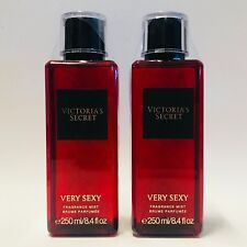 2 Victoria's Secret Very Sexy Fragrance Mist Spray Full Size 8.4 fl.oz For Women