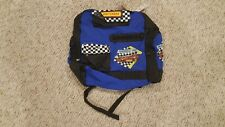 Matchbox Vintage / Bagland USA Kids Team Formula 1 Backpack - Blue New w/Tags