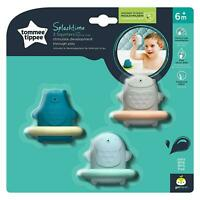 3 x Tommee Tippee Splashtime Squirtee Bath Floating Learning Toy Squirters - 6m+