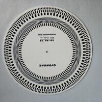 Schallplatte Plattenspieler Drehzahlmesser Kalibrierscheibe Stroboskop Mat GE