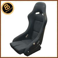 BB5 Fixed Fibreglass Narrow Racing Bucket Seat + Side Mounts & Runners