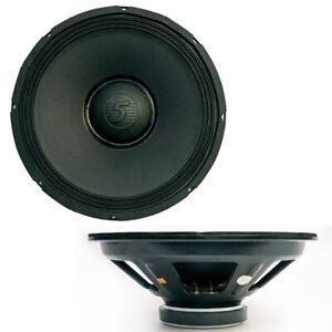 "PRO AUDIO 15"" RAW Replacement DJ Sub Woofer Loud Speaker DRIVER FULL RANGE 8 OHM"