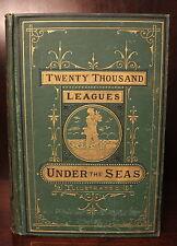 Jules Verne Twenty Thousand Leagues Under the Sea 1873 Adventure Sci-Fi Seas