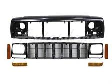 For 1997-2001 CHEROKEE HEADER PANEL GRILLE HEADLIGHT DOOR PARK/CORNER LIGHT 8PCS