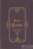 Gedichte: Bürger, Gottfried August