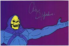 Alan Oppenheimer - He-Man - hand signed Autograph Autogramm -- COA Zertifikat