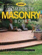 Complete Masonry: Building Techniques, Decorative Concrete, Tools and Materi...