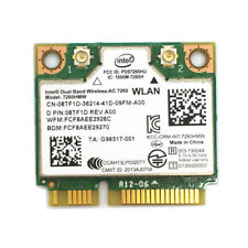Wireless-AC 7260 Dell Intel 8TF1D Mini PCI Express Card WLAN 802.11ac 7260HMW