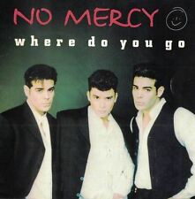 Where Do You Go Maxi-Single No Mercy Music CD 1996 MCI/BMG Arista USA