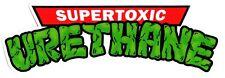 SUPER tossici Uretano-NINJA TURTLES SKATEBOARD Logo Adesivo 14,5 cm di larghezza circa
