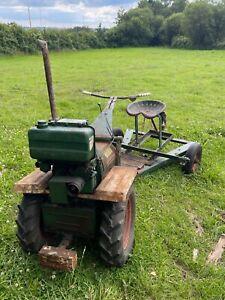 Progress 2-Wheel Tractor with Lister Diesel Engine - 1976