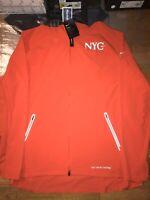 Nike Men's NYC Marathon 2018 Flex Jacket Crimson Size XL AV3865 634 NWT Running