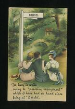 Glos Gloucestershire BRISTOL Artist Comic unposted c1900/10s? PPC crease