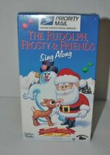 The Rudolph, Frosty & Friends Sing Along VHS Christmas Classics Golden Books FHE